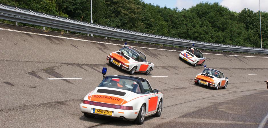 Alleen maar Porsches